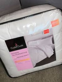 ~BRAND NEW~ Cuddl Duds Full-Queen down comforter all year warmth... La Vista