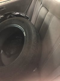 Black car wheel with tire Alexandria, 22303