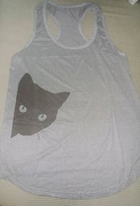 gray and white tank top Montreal, H8T