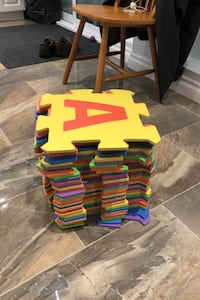 Foam letter and number puzzle mats