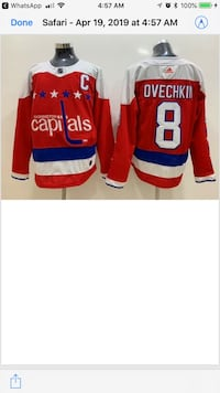 NHL (ADIDAS) Brand New Stitched Jerseys Hanover, 21076