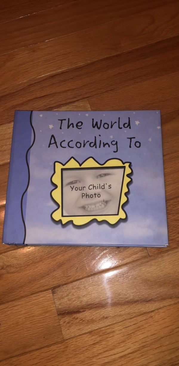 Child's Book to Record Memories- Keepsake!  5e4a0b0f-893d-4952-a6fe-8bf95bff1508