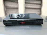 black DVD player with remote London, N6L 0B4
