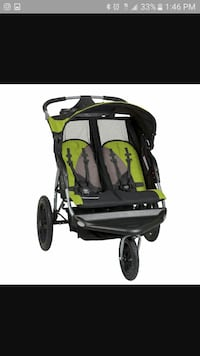 Expedition ex double jogger