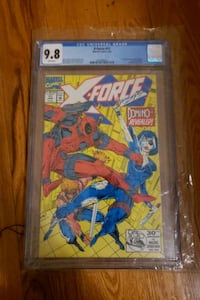 X-force #11 cgc 9 8 1st Domino  Burlington, L7R 1G3