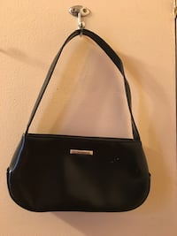 black leather handbag Lancaster, 93535
