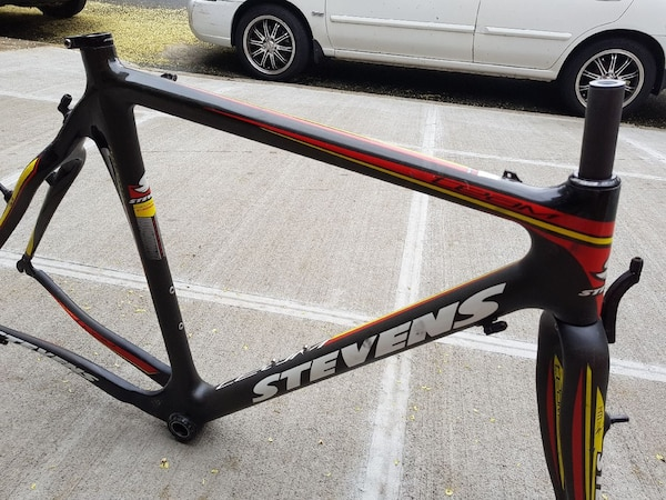 Used 58cm Stevens crosscycle frame for sale in Bronx - letgo