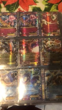 Binder of Pokémon cards/ 26 EX cards Capitol Heights, 20743