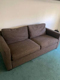 CRATE AND BARREL AXIS  LOVESEAT