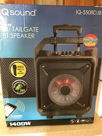 Portable Bluetooth speaker  Mississauga, L5W 1C7