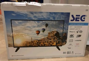 SEG 4K ULTRA HD FULL HD  UYDULU SMART TV INTERNET NETFLİX YOUTUBE HERS