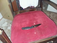 red and black wooden table New Iberia