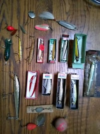 Old fishing lures Troutdale, 97060