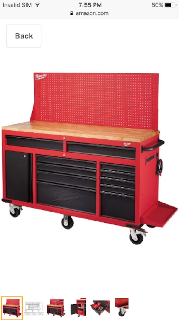 Enjoyable Milwaukee Tool Chest Work Bench Machost Co Dining Chair Design Ideas Machostcouk