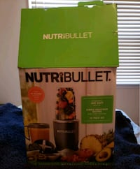 New Nutribullet blender.  Fairfax Station, 22032