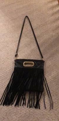 black and brown leather crossbody bag Woodbridge, 22192