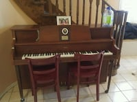 brown wooden piano Toronto, M1V 4L6