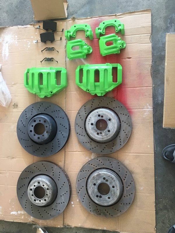 BMW m6 m5 calipers and rotors