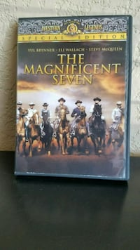 The Magnificent Seven DVD case Sacramento, 95835