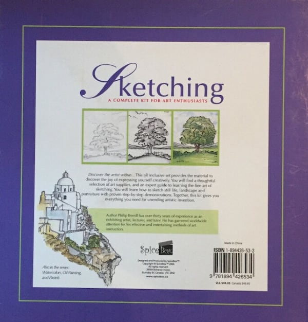 Sketching: A Complete Kit for Art Enthusiasts, factory sealed cb47ae46-9b2d-42df-abb7-50c998bbe783