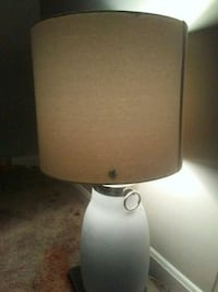 white and gray table lamp Evansville, 47714
