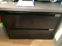 2 drawer office cabinet