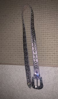 B.B Simon belt size 38 Ashburn