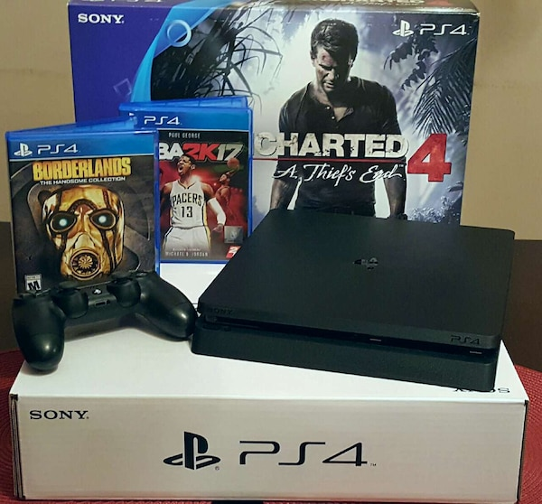 Used Playstation 4 Ps4 Console Bundle For Sale In San
