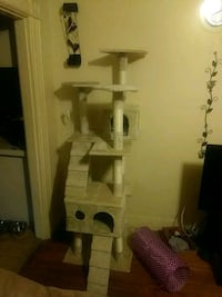 3 decker cat condo. Brand new, our cat to big. Manchester, 03104