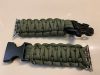 Paracord wrist strap for 42mm Apple Watch Bethesda, 20817
