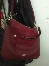 women's red leather sling bag Toronto, M5A