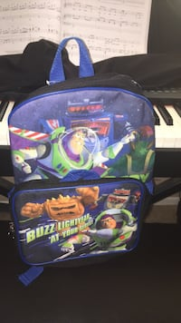 Buzz lightyear boys backpack with lunchbox included Bowie, 20715