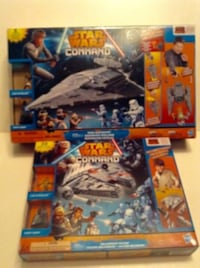 Two Star Wars Command Playsets London