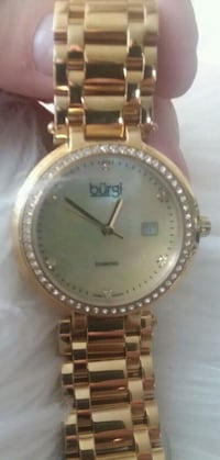 BURGI gem and pearl watch Portland