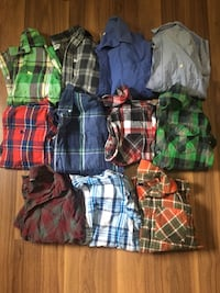 Boy's long sleeve shirt lot Brighton, K0K 1R0
