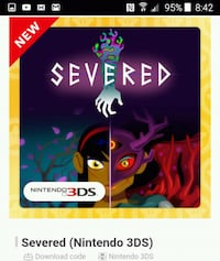 Severed Digital Game for 3ds Federal Heights, 80260