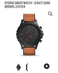 Fossil Q - Nate (smart watch) Toronto, M4M