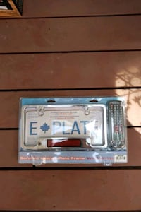 Programmable license plate holder with remote cont Coquitlam, V3J 3T5