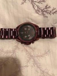 Michael Kors plum watch  Coquitlam, V3B