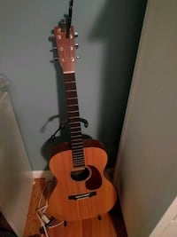 Martin acoustic guitar with capo and tuner Catonsville, 21228