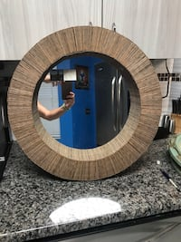 "22"" round mirror made in Indonesia  West Palm Beach, 33417"