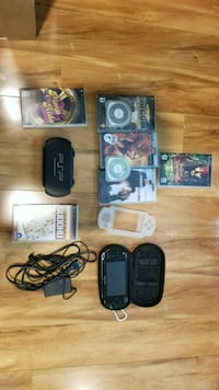 Psp with 9 games and 5 movies Fort Myers, 33905