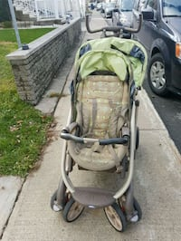 baby's gray and green stroller 788 km