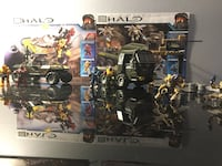 Mega bloks Halo building sets worthog and covenant outbreak  Kitchener, N2P 1K3