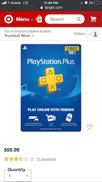 PlayStation Plus. Play online with friends. 12 month membership Bridgeport, 06605