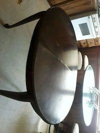 oval black wooden coffee table Princeton, 71067