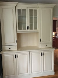 white wooden cabinet with mirror Arlington, 22203