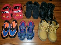 toddler's six pairs of shoes SIZE 11.  Pompano Beach, 33068