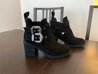 Top Shop woman buckle booties, size 38 Burnaby, V5H 2V6