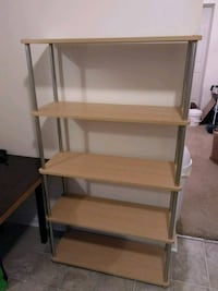 sturdy freestanding 5 shelf unit Fort Meade, 20755
